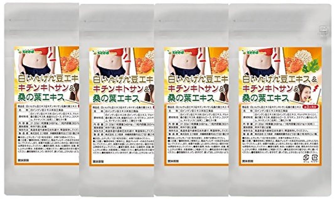 悪意ドロー白いんげん豆&キチンキトサン&桑の葉エキス (約12ケ月分)