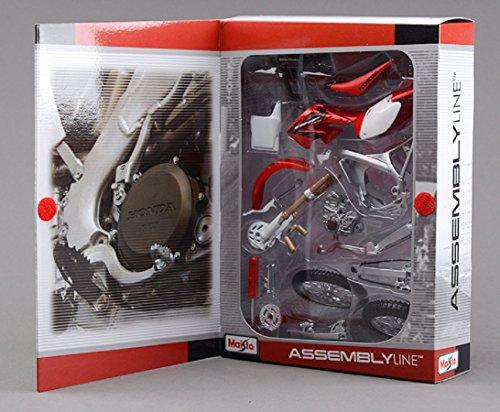 マイスト Maisto 1/12 ホンダ Honda CRF450R 39054 組み立て オートバイ Motorcycle バイク Assembly DIY Bike Model Kit ロードバイク [並行輸入品]