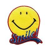 スマイル ワッペン ロゴ SMAP112