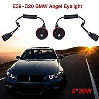 BMW E39-C20用ヘッドライトLED電球ハロDC 12V LED自動車