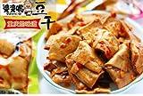 豆腐加工品、婆婆嘴 石磨豆干(泡椒風味) (酒鬼・五香・泡椒・麻辣味等) 中国おやつ 間食 90g