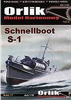 ORLIK 1:100 Schenellboot S-1(Card Model)