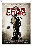 映画の金属看板 ティンサイン ポスター / Tin Sign Metal Poster of Movie Fear Clinic