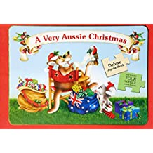 Very Aussie Christmas Deluxe Jigsaw Book