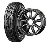 サマータイヤ・ホイール 1本セット 12インチ DUNLOP(ダンロップ) エナセーブ VAN01 145R12 6PR + FABULOUS(ファブレス)