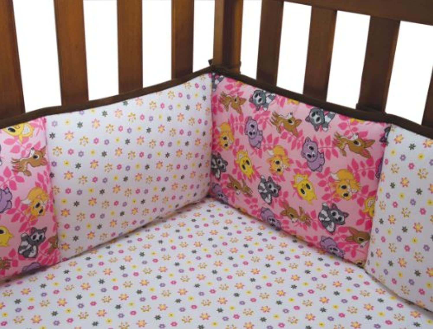 Trend Lab Crib Bumpers ONE SIZE ピンク 106923
