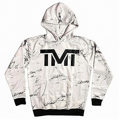 (ザ・マネーチーム) THE MONEY TEAM TMT 正規輸入品 【TMT-MO36-2WK】THE MONEY TEAM ザ・マネーチーム パーカーMARBLE 白ベース×マーブル フロイド・メイウェザー ボクシング 男性 メンズ