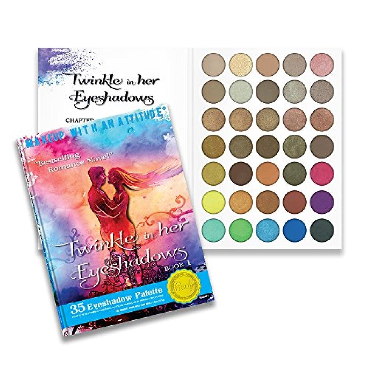 不忠レガシー中古RUDE Twinkle In Her Eyeshadows 35 Eyeshadow Palette - Book 1 (並行輸入品)
