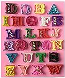 ( Petit Cadeau ) シリコンモールド レジン シリコン 型 アルファベット 大文字 A