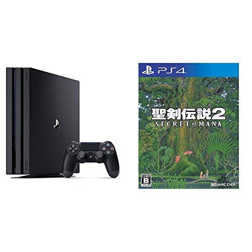 PlayStation 4 Pro ジェット・ブラック 1TB + 聖剣伝説2 シークレット オブ マナ セット