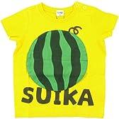 CHEEK ROOM スイカTシャツ 95cm/イエロー NO.B-430141