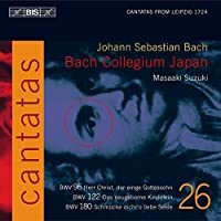 Bach: Cantatas, Vol 26 (BWV 180, 122, 96) /Bach Collegium Japan ・ Suzuki by Bach Collegium Japan