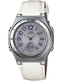 [カシオ]CASIO 腕時計 WAVECEPTOR ウェーブセプター レディース電波ソーラーウォッチ ホワイト MULTIBAND6 マルチバンド6 LWA-M141L-7A5JF レディース