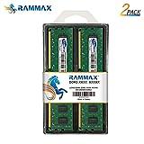 DDR3 10600 4GBメモリ 2枚組 RamMax RM-LD1333-D8GB  1333 PC10600 4GBX2 DUAL 240pin DDR3-SDRAM デスクトップ パソコン用 増設メモリ 8GB デュアル