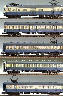 【グリーンマックス】飯田線 荷電併結5輛編成セット(207)未塗装・組立キット『鉄道模型NゲージGREENMAX608100710