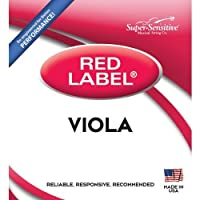 Super Sensitive Red Label 4115 Viola A String Intermediate [並行輸入品]