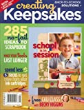 Creating Keepsakes, September 2008 Issue