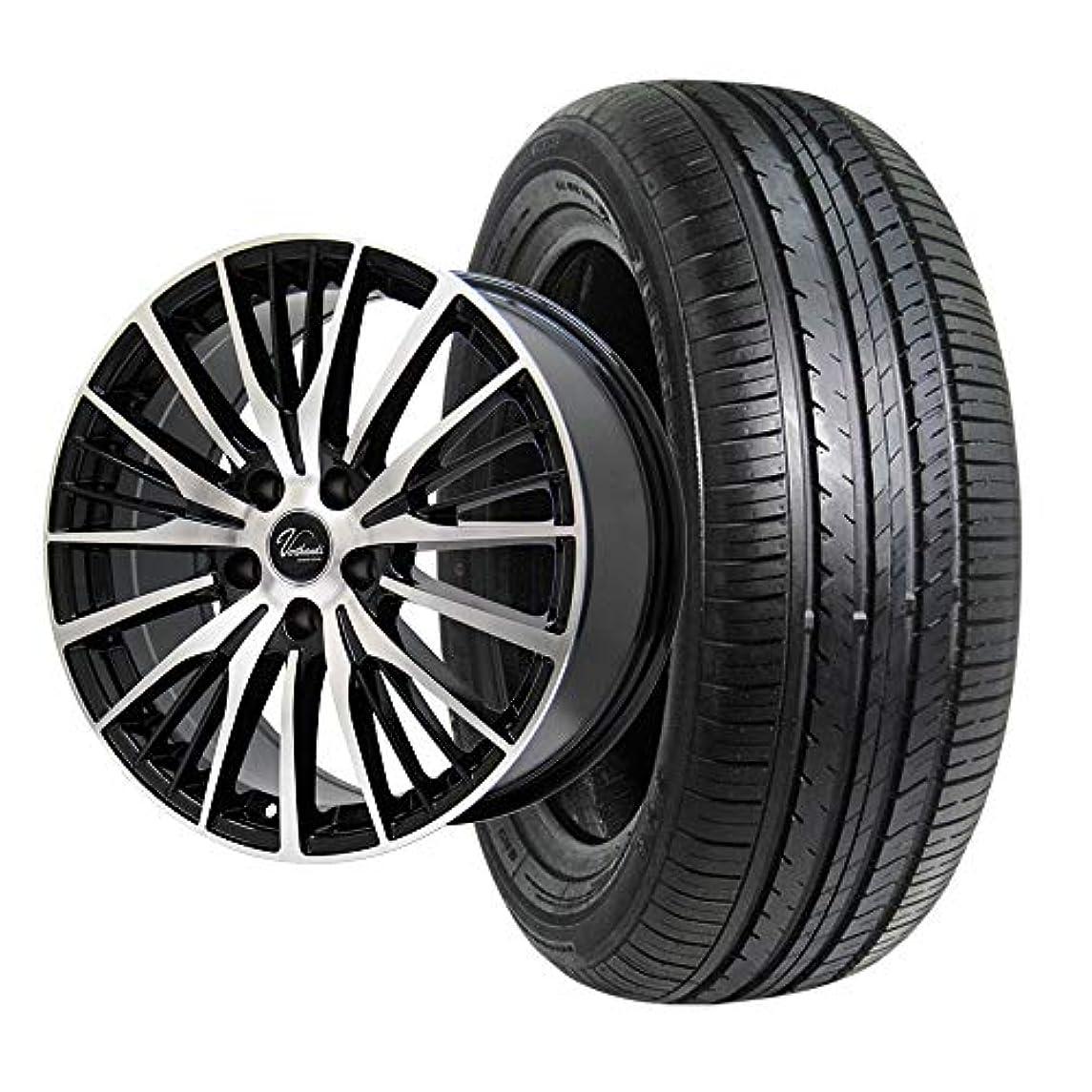 人柄靴回転するZEETEX(ジーテックス) サマータイヤ&ホイール ZT1000 215/65R16 Verthandi(ヴェルザンディ) 16インチ 4本セット