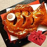 アップルパイ めで鯛 風呂敷包み ギフト お歳暮 お年賀 プレゼント お菓子【13時までのご注文で即日出荷可能】