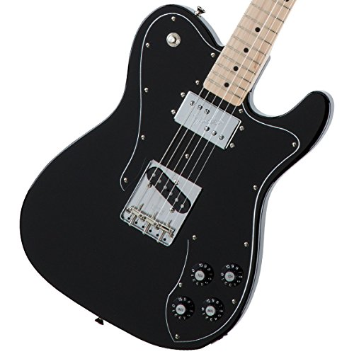 Fender / Made in Japan Traditional 70s Telecaster Custom Maple Fingerboard Black