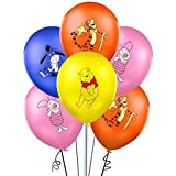 """Lsang 32PCS Winnie the Pooh and Friends Balloons Party Supplies 12"""" Latex Balloons for Kids Baby Shower Birthday Party Decora"""