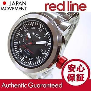 RED LINE(レッドライン) 50046-11BK Torque Sport/トルクスポート 自動巻き メタルバンド ブラックダイアル メンズウォッチ 腕時計[並行輸入品]