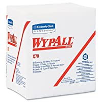 kcc41200–Wypall x70Wipers、1/ 4-fold、121/ 2x 12、ホワイト