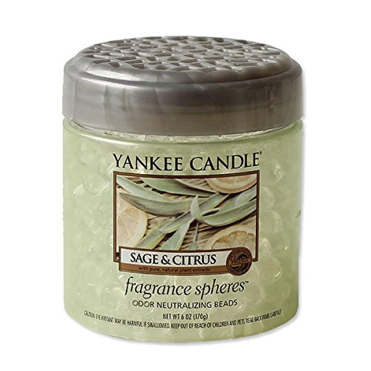 間に合わせ説明ヤングYANKEE CANDLE?ヤンキーキャンドル フレグランスビーズ セージ&シトラス