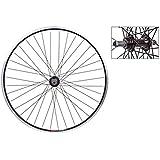 Wheel Master Rear 26 x 1.5, WEI-519, Black, QR Alloy 5/6/7 sp FW, 14g Black Spokes, 36H by WheelMaster