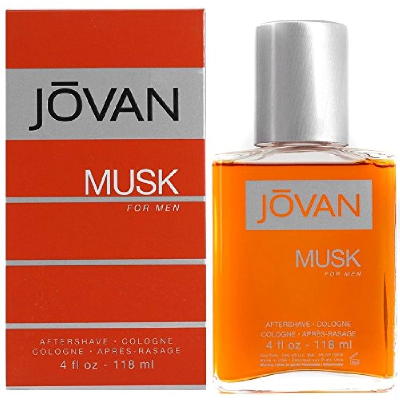 確認してください湿気の多いエージェントJOVAN(ジョーバン) ジョーバン ムスク フォーメン アフターシェーブ コロン 118ml