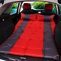 CGN アウトドアキャンプ車ショックベッドポータブル自動インフレータブルベッドスリーピングパッドカーベッドベッドエアベッドエアクッション 持ち運びが容易 ( 色 : 赤 )