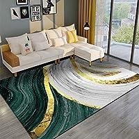 モダンなシンプルさ リビングルームのカーペット北欧滑り止めブレンド寝室のレストラン吸収性の単純な面積カーペットソファコーヒーテーブルマット 絨毯 じゅうたん (Color : F, Size : 120*160cm)