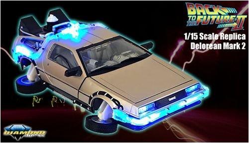 Back To The Future Part II 1/15 Scale Replica: Delorean Mark 2