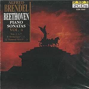 """BEETHOVEN:Piano Sonatas, Vol.4: Nos.2/3/7/8 """"Pathetique""""/11/12/24"""