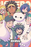 Journal: Inexpensive Journal for Boys and Girls Fantastic Incredible Drawing Photo Art Big Hero 6 Baymax Soft Glossy Wide Ruled Journal with Ruled Lined Paper for Taking Notes Writing Workbook for Teens and Children Students School Kids