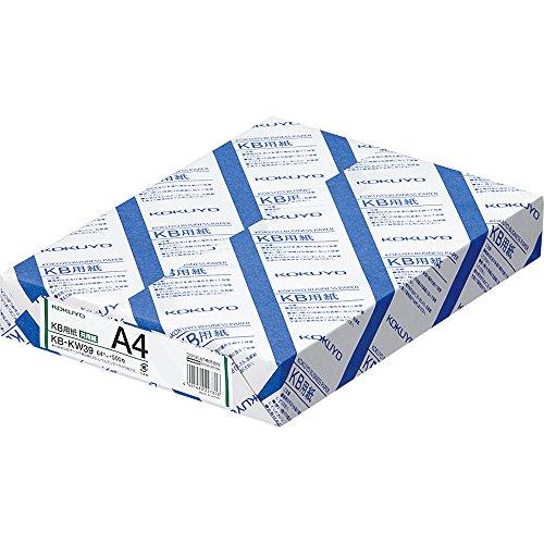 KB用紙(共用紙) A4 500枚 KB-KW39