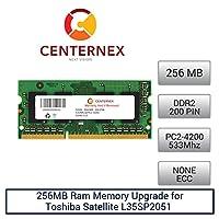 256MB RAMメモリfor Toshiba Satellite l35sp2051(ddr24200) (pa3389u2m25) ノートPCメモリアップグレードby US Seller