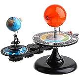 Sharplace ソーラーシステムモデル 太陽系 軌道模型 太陽 地球 月 おもちゃ プレゼント