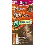 ホーユー ビゲン香りのヘアカラー乳液2D (落ち着いたより明るいライトブラウン) 40g+60mL ×3個