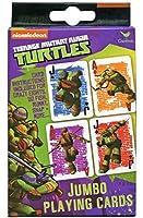 Nickelodeon Teenage Mutant Ninja Turtlesジャンボ標準Playing Cards