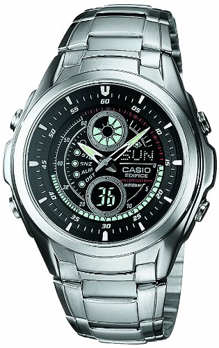 [カシオ]CASIO 腕時計 スタンダード アナログ/デジタルコンビモデル EFA-116D-1A1JF メンズ