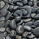 黒磨き玉砂利 直径約3~5cm 10kg