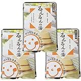 別府明礬温泉 温泉入浴剤 薬用入浴剤 るんるんの湯(もと) 【おためし 3袋セット】