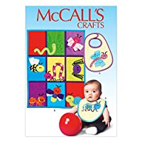 McCall's Patterns M7172 Bib Sewing Template, Quilt and Bug Appliques, One Size Only by McCall's Patterns