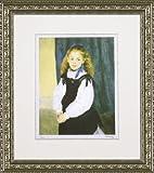 ユーパワー Museum series ミュージアムシリーズ(ジグレー版画) アートフレーム ルノワール 「ルグラン嬢の肖像」 MW-18038