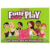 bride-to-be Fourplay in a row–Up、Down、およびすべてAround Fun 。