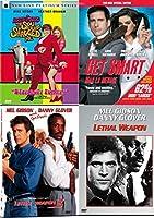 Copedies = Cop + Comedies Get Smart + Lethal Weapon + Spy Who Shagged Me Austin Powers 4-DVD Pack Bundle【DVD】 [並行輸入品]