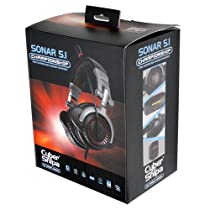 CyberSnipa 5.1chヘッドセット Sonar 5.1 Championship Headset 8スピーカー搭載 USB接続 ブラック CSHSSO03D