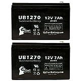 2xパック - APC SMART-UPS 750 SUA750US 互換バッテリー : APC UB1270 シールド鉛蓄電池 バッテリー対応 (7Ah, 12V, SLA, AGM)