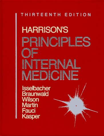 Harrison's Principles of Internal Medicine/1 Volume Edition/Full Edition Bk1&2